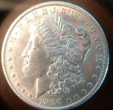 1890 P Morgan Silver Dollar Unc #8010