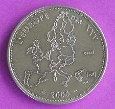 Médaille commémorative, L'Europe des XXV, 2004, (essai)