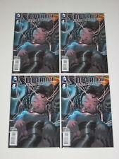 SUPERMAN AMERICAN ALIEN #1 1:25 NICK DRAGOTTA VARIANT X 4 COPIES bagged boarded