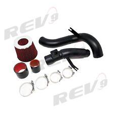 REV9 Cold Air Intake Kit 16-17 Civic 1.5L Turbo with CVT Aluminum Pipe black