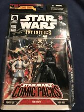 STAR WARS COMIC PACKS 9 INFINITIES PRINCESS LEIA DARTH VADER 2007 new #4
