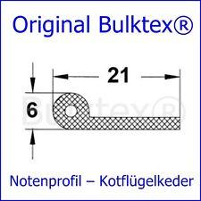 BULKTEX® Keder Kederprofil Dichtprofil Notenprofil Gummiprofil 10 Meter Neu VW
