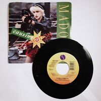 """Madonna - Causing A Commotion SIRE - Vinyl 7"""" Record - 1987"""