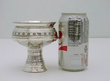 P. Hertz Danish Sterling Silver Pedestal Dragstil Cup Dated c1912 8.3 ounces