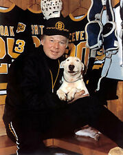 Don Cherry - Boston Bruins and his Dog Blue - 8x10 Color Photo