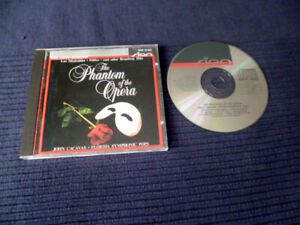 CD John Cacavas Phantom Of Opera Pure Digital BOSE Monitor PC in-akustik SION