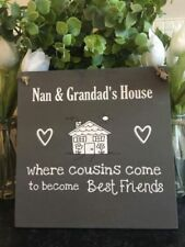 Shabby Chic Grandfather Decorative Indoor Signs/Plaques