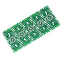 5Pcs TQFP/LQFP/EQFP/QFP32 0.8mm to DIP32 Adapter PCB Board Converter SSHN