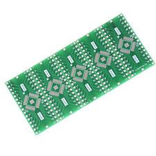 5Pcs TQFP/LQFP/EQFP/QFP32 0.8mm to DIP32 Adapter PCB Board ConverteSE