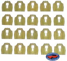 65-90 GM Cadillac Chevy Body Side Belt Vinyl Top Trim Molding Clips 20pcs BB