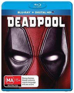 Deadpool (Blu-ray+ Digital HD, 2016) Region B - NEW+SEALED