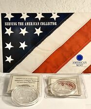 American Mint Air And Space Museum Silver Clad Coins