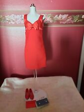 Franklin Mint Princess Diana Red Dress for Vinyl Doll