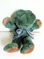"""Rachael Q Ribbit 14"""" Plush Frog with Sound The Boyd's Collection 1991"""