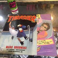 Thrasher Skateboard Magazine July 1987 Gator Slasher 7/87 Jul