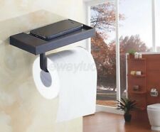 Wall Mounted Bathroom Toilet Paper Holder Oil Rubbed Bronze Roll Tissue Rack