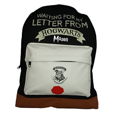 Harry Potter Hogwarts Officially Licensed Backpack- Plain/Personalised School