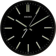 BRAND NEW Seiko Contemporary Luminous Wall Clock QXA521JLH