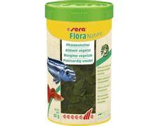 Sera Flora Natürlich 250 ML Plant Food Spirulina Herbivorous Aquarium Fish