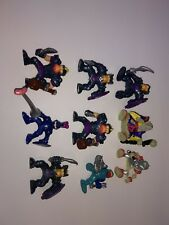 Fisher Price Great Adventures Imaginext Lot of 9 Blue Knights & More