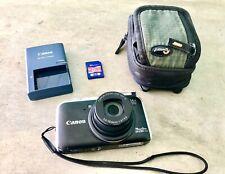 Canon PowerShot SX230 HS 12.1MP Digital Camera - Black