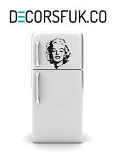 Marilyn Monroe vinyle autocollant réfrigérateur-A4-Art déco / décoration murale / cuisine autocollant