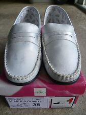 Chaussures Femme Cuir Argent ARTIKA Taille 35 - NEUF