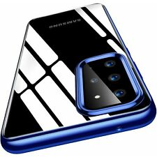 COVER per Samsung Galaxy S20 / Plus+ /Ultra CUSTODIA + PELLICOLA VETRO TEMPERATO