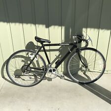 "Vintage Cannondale 21"" Black Road Bike Bicycle Shimano 600 Componets Very Light"