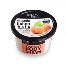 ORGANIC SHOP: Lychee Body Cream 250 ml 8.8 fl oz
