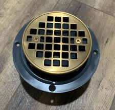 Kohler 3� Round Shower Drain Vibrant Modern Brushed Gold Koh13552
