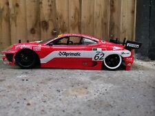 🔥 Rc Carisma M40S Ferrari -body shell drift racing  4WD 1/10 scale 🔥