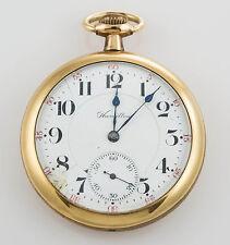Hamilton Open Face Antique Pocket Watches with Chronograph