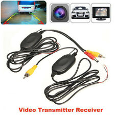 New 2.4G Wireless Camera Video Transmitter &Receiver for Car Rear View Monitor