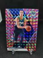 2019-20 Panini Mosaic Dwight Powell Pink Swirl /11 Dallas Mavericks