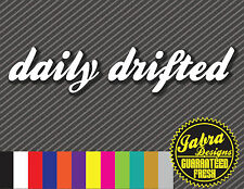 Daily Drifted Decal Stickers 240sx RWD Racing Fits rx7 silvia skyline sti Nissan