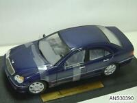 2000 MERCEDES-BENZ C CLASS BLUE BY ANSON VERY OLD RELEASE 1:18 NEW IN BAD BOX