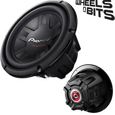 """PIONEER ts-w311d4 12 """"pouces 30cm 1400 watts max sub caisson 400 rms 2-8 ohms"""