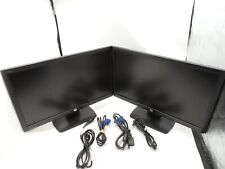 lot of 2 Dual 2X Hp Compaq Le2202x 21.5-inch Led Backlit Lcd Monitor