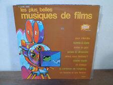 """LP 12"""" LES PLUS BELLES MUSIQUES DE FILMS - Jeux interdits + 11 - VG+/VG+ -FRANCE"""
