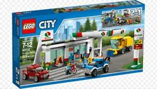 New LEGO City Service Station - 60132 Car, Town, Minifigures Retired