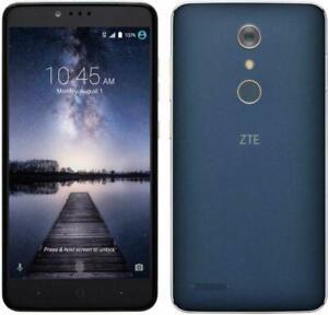 NEW ZTE ZMAX PRO Z981 4G LTE 13MP 6.0'' FHD Unlocked AT&T,T Mobile,No Metro pcs