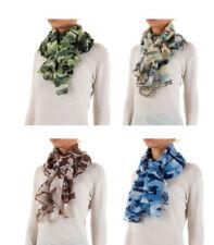 Damen-Schals mit Camouflage-Camouflage