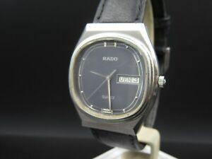 """O905 ⭐⭐Vintage """" Rado """" Ladies Quartz Wrist Watch Tag & Date Anniversary G+H ⭐⭐"""