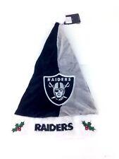 Oakland Raiders Santa Hat Christmas Holiday NFL Football Licensed Cap