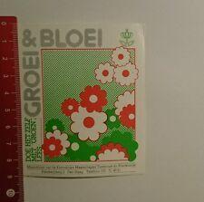 Aufkleber/Sticker: Groei & Bloei doe het zelf Met groen lees (08101629)