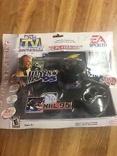 Vtg 2004 Jakks Pacific EA Sports Plug n Play NHL 95 & Madden 95 video game New