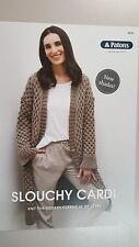 Patons Slouch Cardi Pattern Book Leaflet #0030 - Autumn/winter 2016