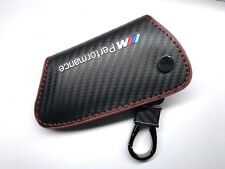 BMW M performance Carbon Fiber Key Holder Cover Case For BMW X1 X3 X5 X6 M F