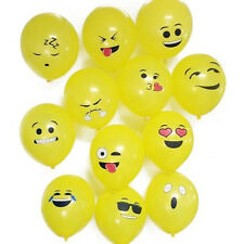 Emoji Smiley Face Balloon Wedding Birthday Party Home Decoration 12pcs